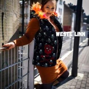 Makerist - Weste Linn für Damen aus Strickstoffen - Fleece - Steppstoff - 1