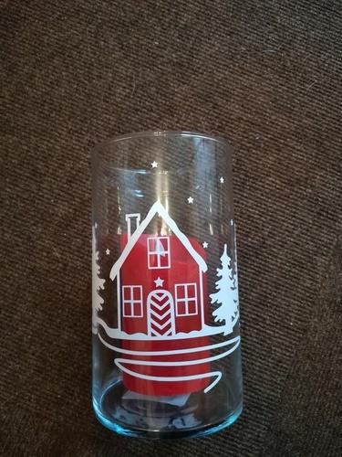 Makerist - Ein Glasgefäß für die kommende Weihnachtszeit verziert - DIY-Projekte - 1