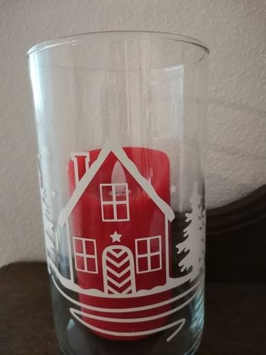 Makerist - Ein Glasgefäß für die kommende Weihnachtszeit verziert - DIY-Projekte - 2