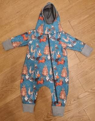 Makerist - Softshellanzug für meinen Zwerg - 1