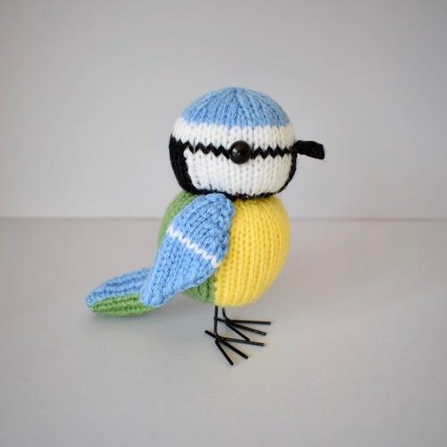 Makerist - Blue Tit - Knitting Showcase - 1