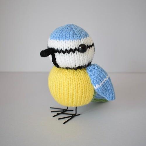 Makerist - Blue Tit - Knitting Showcase - 2