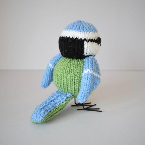 Makerist - Blue Tit - Knitting Showcase - 3