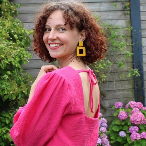 Makerist - Blouse Myriam - Atelier des premières  - Créations de couture - 2