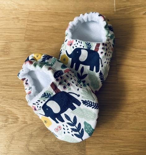 Makerist - Chaussons bébé  - Créations de couture - 2