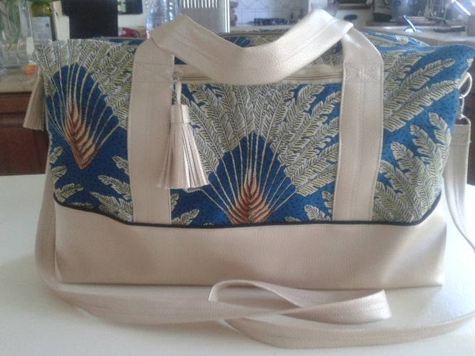 Makerist - sac de voyage Georges pour Clémence - Créations de couture - 1