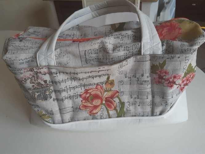 Makerist - sac de voyage Georges pour Clémence - Créations de couture - 3