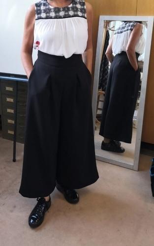 Makerist - Pantalon jupe culotte la désinvolte  - #makeristalamaison - 1