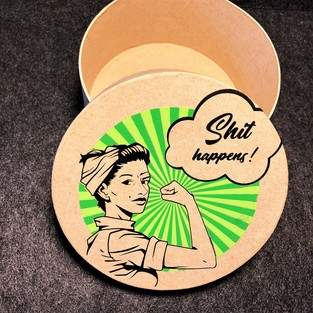 Makerist - Power Frau / Plotterdatei: B.Style - 1