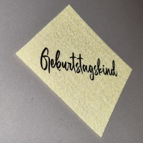 Makerist - GEBURTSTAGSUNTERSETZER AUS FILZ - Filzprojekte - 1