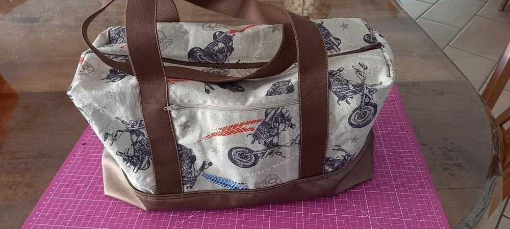 Makerist - Sac georges pour motard - Créations de couture - 2