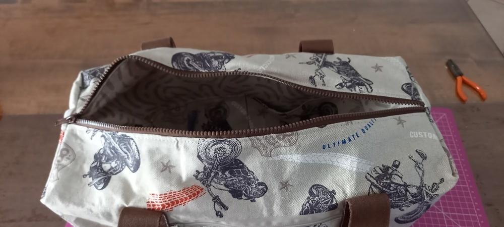 Makerist - Sac georges pour motard - Créations de couture - 3