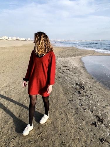 Makerist - Robe raisin en maille ajourée @lea__clara_ - Créations de couture - 1