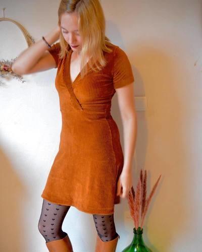 Makerist - Robe Mia - L'Usine à Bulle - Créations de couture - 1