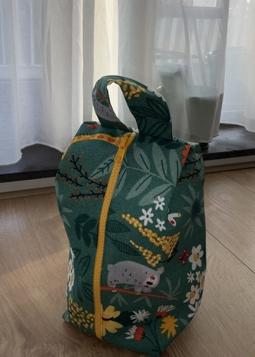 Makerist - Fred Travel Pouch in canvas - DIY Showcase - 3