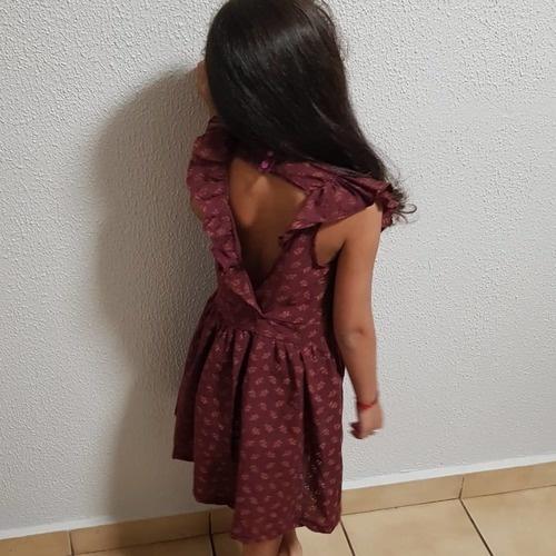Makerist - Robe multi dans un coton broder, pour une petite fille en taille 7 ans  - Créations de couture - 2