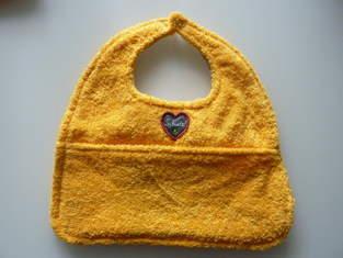 Makerist - Babylätzchen mit Auffangtasche - 1