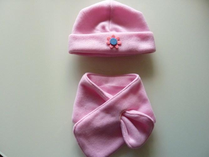 Makerist - Babymütze mit Schal - DIY für Kinder - 1