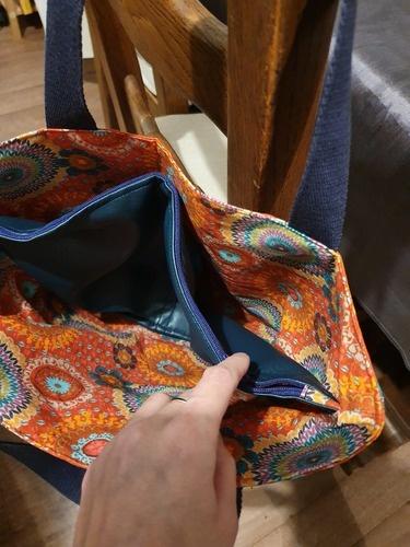 Makerist - Sac à main Cabas Sasha (petite taille) - Créations de couture - 2
