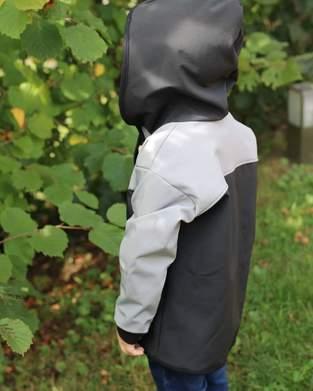 Makerist - Outdoor Hoodie aus walk und softshell  - 1