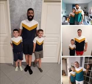 Makerist - tee shirts  Scap pères- fils - 1
