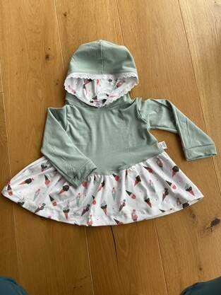 Makerist - Flouncy hoodie in 98 aus Jersey - 1