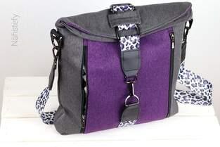 Makerist - Coole Tasche mit tollem Verschluss  - 1