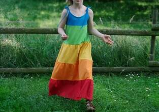 Makerist - Farbenprächtiges Sommerkleid - 1