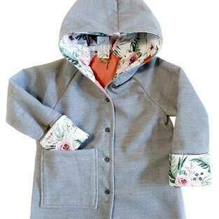 Makerist - Płaszczyk dla dziewczynki z polaru - 1