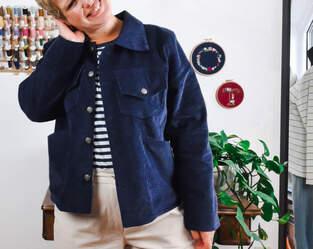 Makerist - Jacke Leila aus Cord - 1