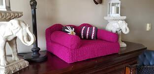 Makerist - Crochet Cat Couch - 1