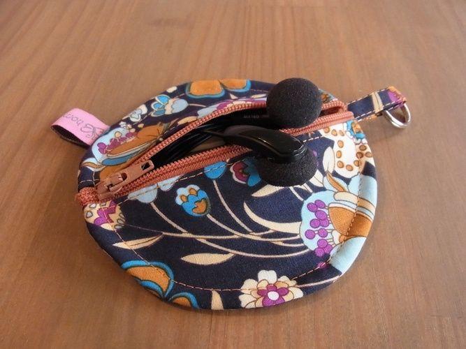 Makerist - Kleine Kopfhörertasche - Nähprojekte - 1