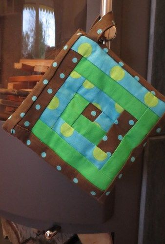 Makerist - gequilteter Topflappen - Patchwork-Projekte - 1
