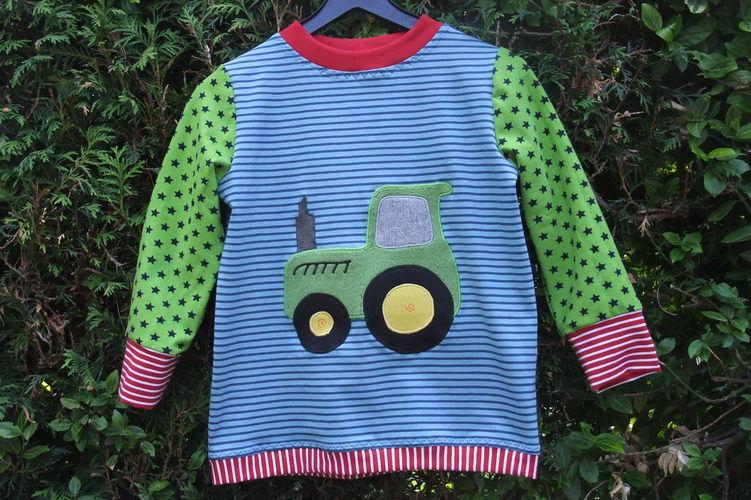 Makerist - cooles Trecker Shirt  ;-) - Nähprojekte - 1