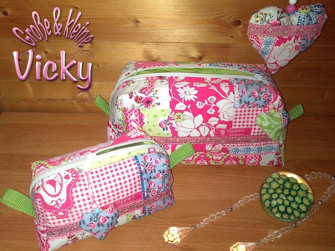 Makerist - Vicky Kultur-/Kosmetiktaschen - Nähprojekte - 1