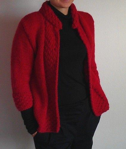 Makerist - Jacke mit verkürzten Ärmeln - Strickprojekte - 1