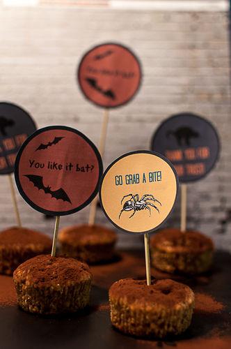 Makerist - Muffin-Aufstecker fürs Halloween -Büffet - DIY-Projekte - 2