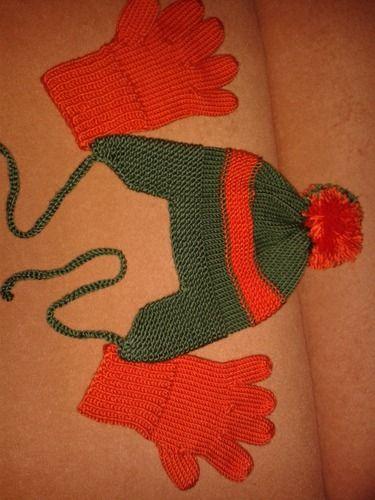 Makerist - Mütze und Handschuhe - Strickprojekte - 1