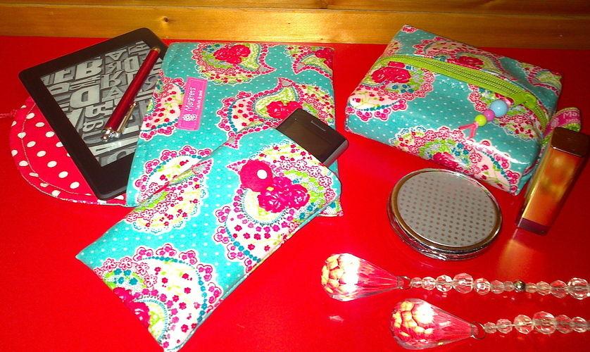 Makerist - Kleine Handtaschenbegleiter  - Nähprojekte - 1