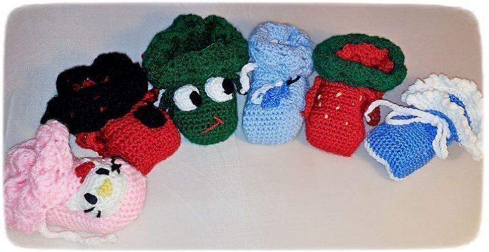Makerist - Babyschühchen - Häkelprojekte - 1