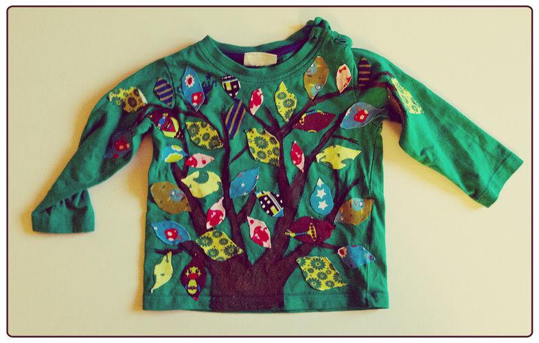 Makerist - Stoffreste-Baum-Shirt - DIY-Projekte - 1