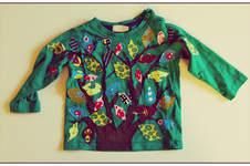 Makerist - Stoffreste-Baum-Shirt - 1