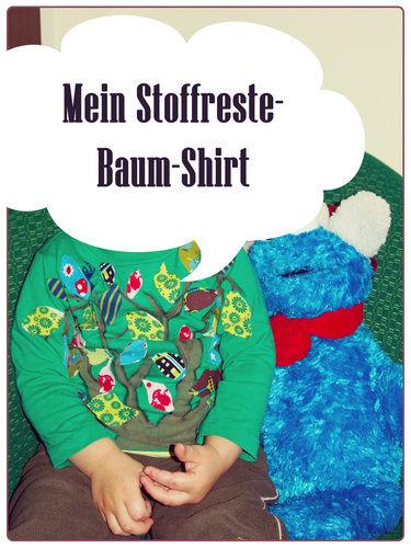 Makerist - Stoffreste-Baum-Shirt - DIY-Projekte - 2