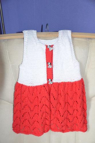 Makerist - Süßes Sommerkleid für mein Enkelkind - Strickprojekte - 1