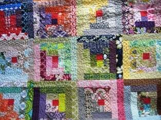 Makerist - Log Cabin Quilt - 1