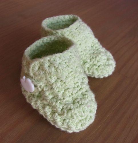 Makerist - Gehäkelte Babyschuhe - Häkelprojekte - 1