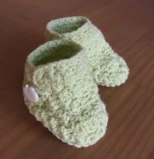 Makerist - Gehäkelte Babyschuhe - 1