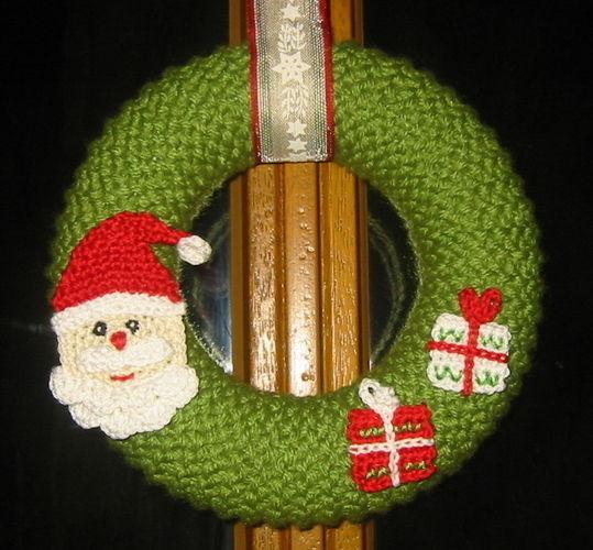 Makerist - Weihnachtskranz - Strickprojekte - 1