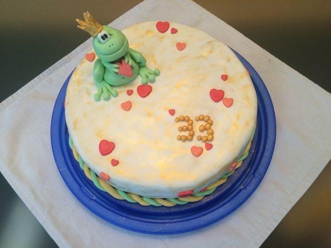Makerist - Meine erste Fondanttorte :-) - Torten, Cake Pops und Cupcakes - 1