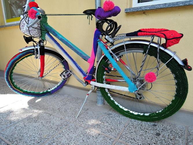Makerist - Fahrrad eingestrickt - Strickprojekte - 1